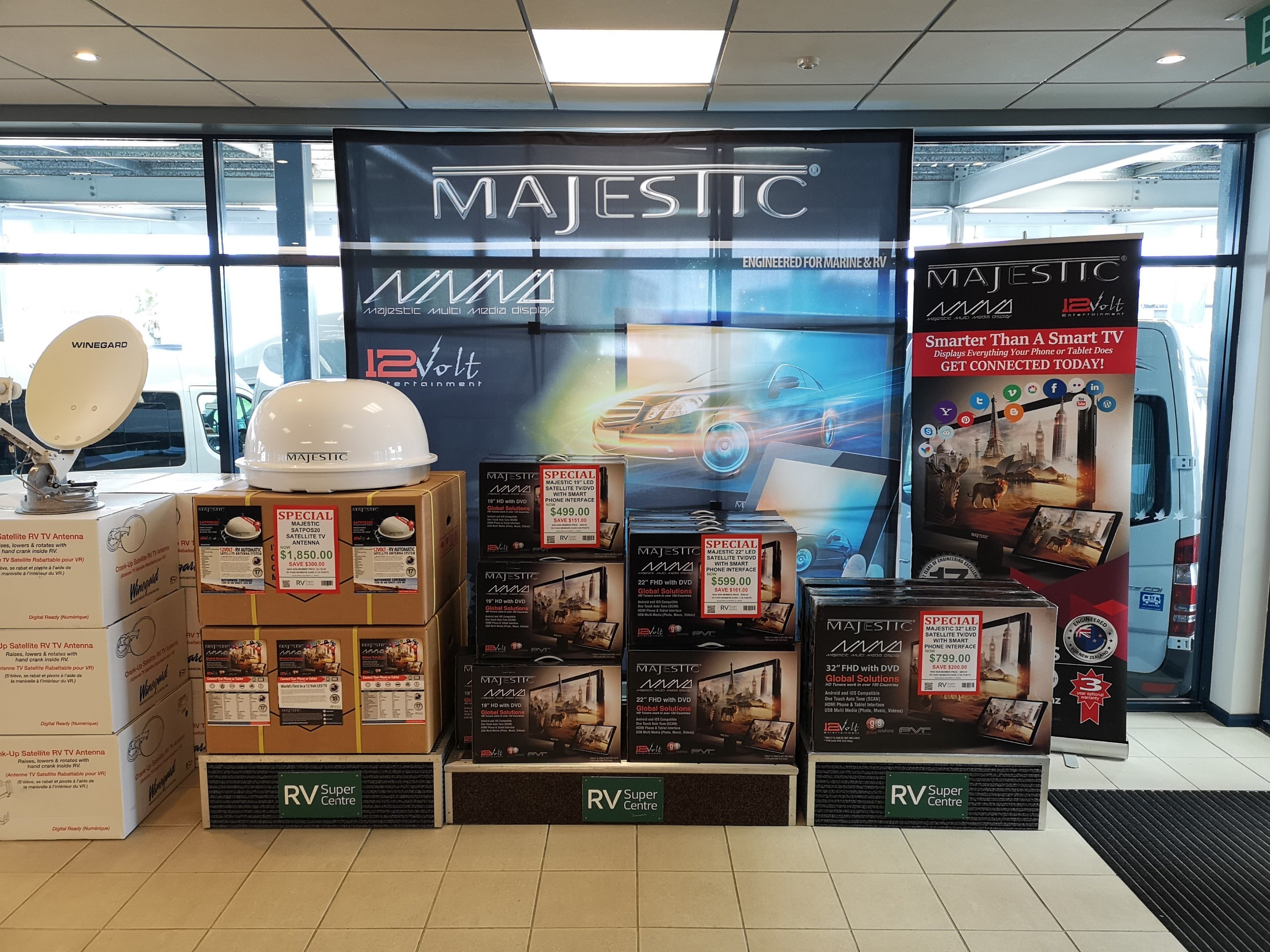 RV Super Centre is holding a huge September Sale with Savings on Majestic Products.